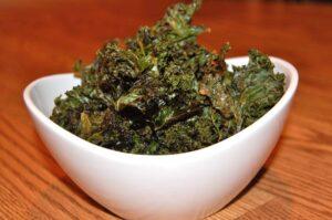Crispy Baked Kale Chips