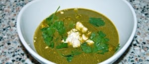 Swiss Chard and Herb Soup with Feta