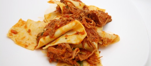 ... con Straccoto Recipe: Pasta with Braised Pork Shoulder Ragu