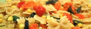 Farfalle with Summer Corn and Cherry Tomatoes