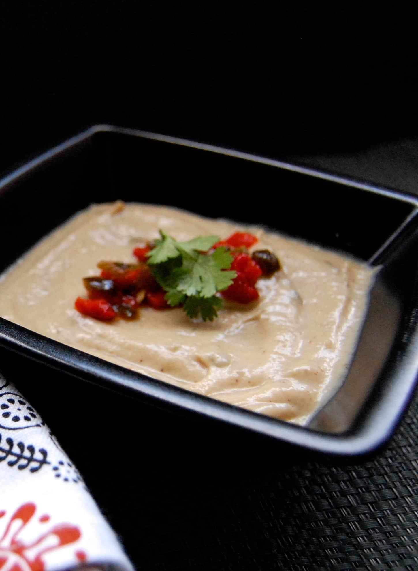 Roasted Cauliflower - Poblano Soup
