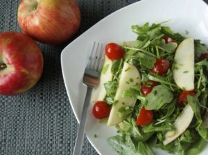 Simple Arugula and Apple Salad