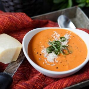 quick tomato basil soup