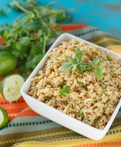 Cilantro Lime Brown Rice