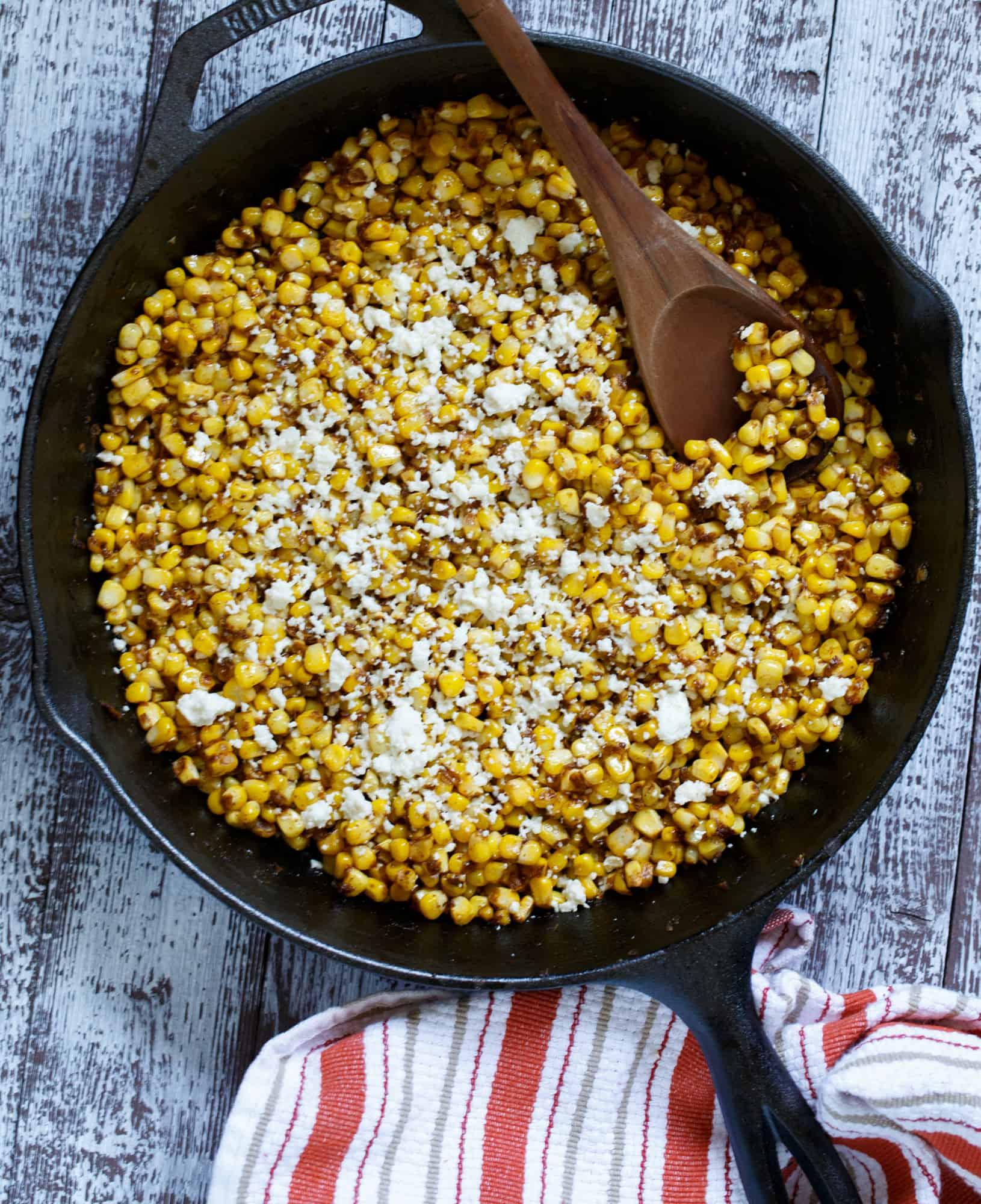 Spicy Southwest Corn