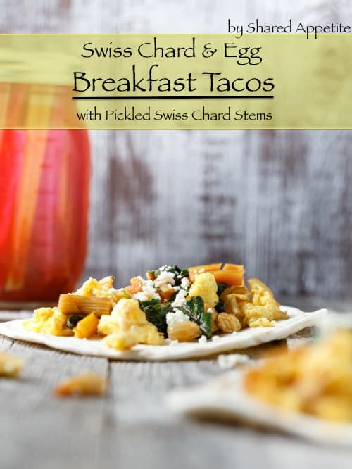 vegetarian breakfast tacos
