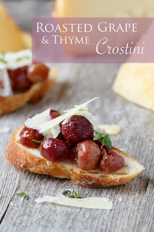 fruit crostini