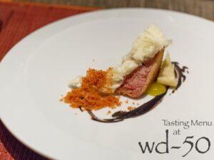 Tasting Menu at wd-50