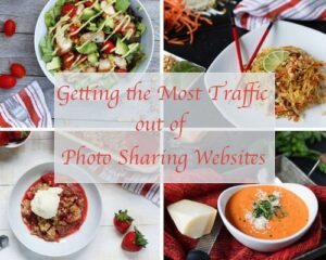 Getting the Most Traffic out of Photo Sharing Websites