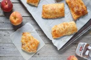 peach hand pie