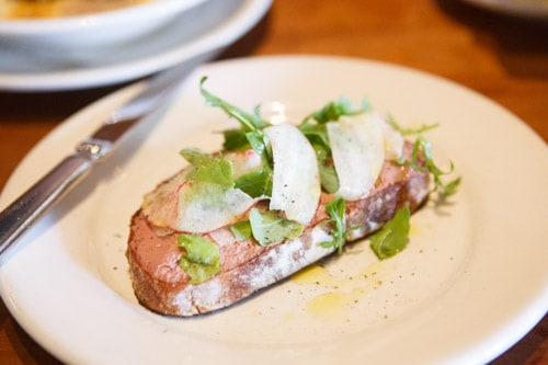 Chicken Liver Bruschetta