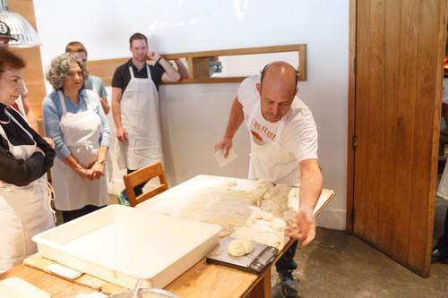 No-Knead Dough Jim Lahey Pizza Class