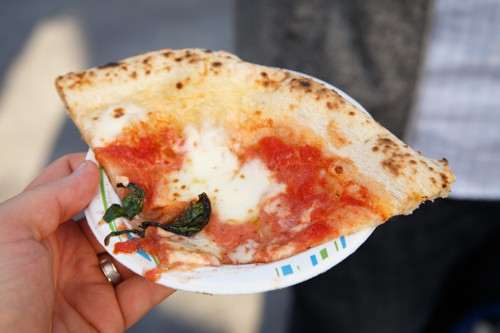 Pizza Tasting at 2013 NYC Wine and Food Festival