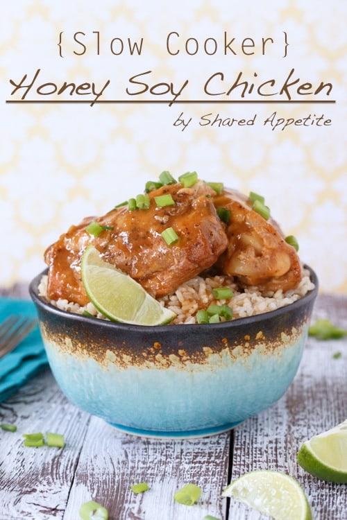 slow cooker honey sriracha chicken thighs