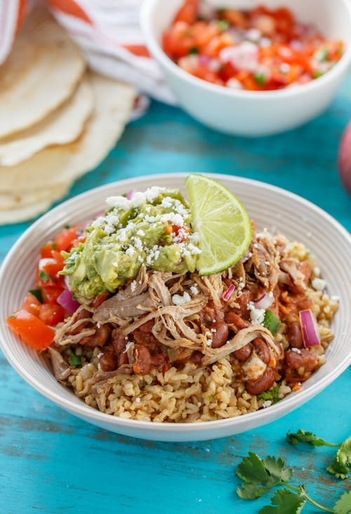 carnitas burrito bowl