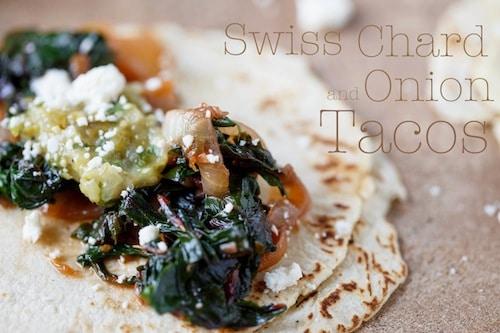 swiss chard tacos