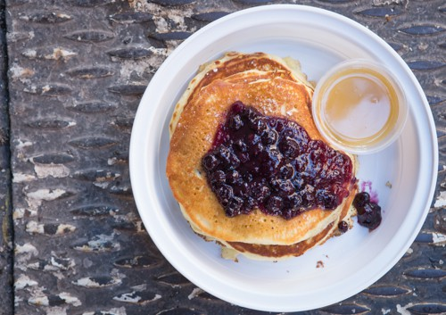 Blueberry Pancakes NYC