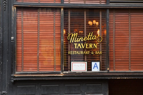 Minetta Tavern, Greenwich Village NYC