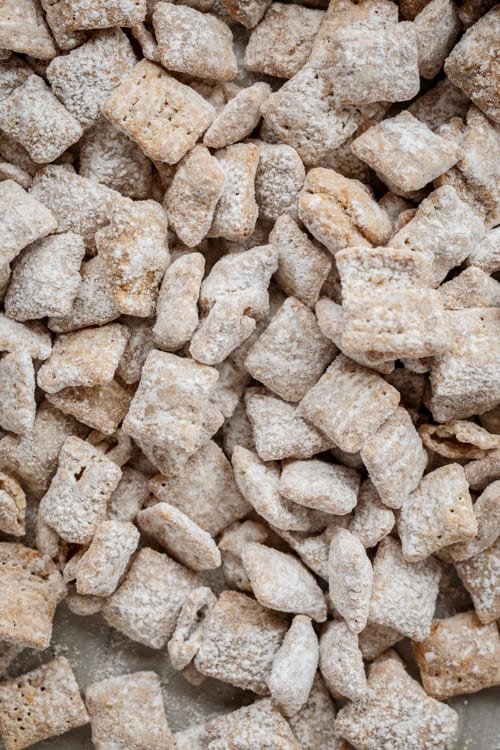 cookie butter puppy chow snack