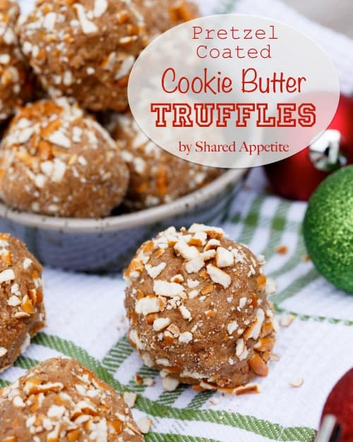 cookie butter speculoos truffles