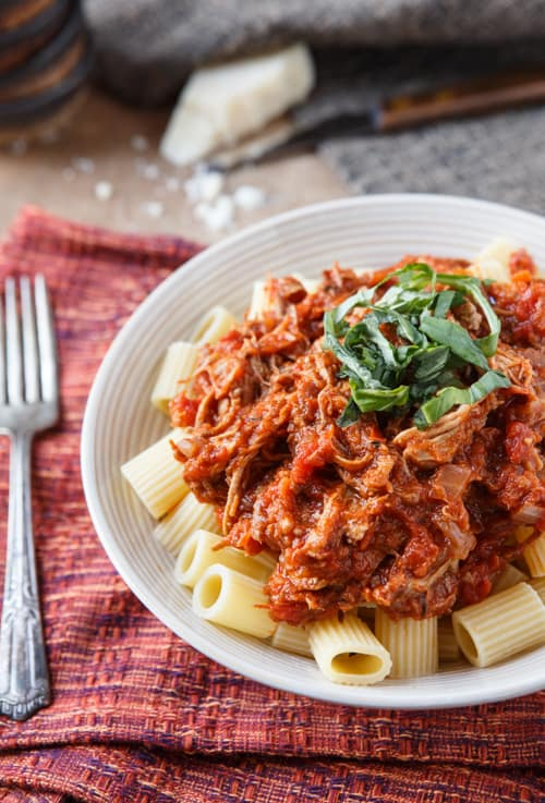 braised pork shoulder ragu