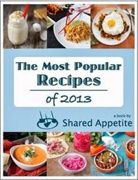 Most Popular Recipes of 2013 Free eBook