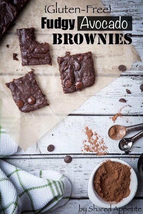 healthier avocado brownies {gluten-free}
