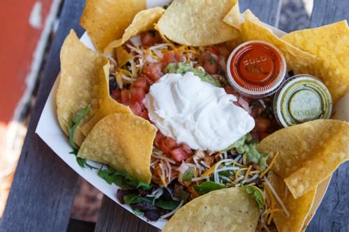 Taco Salad at Avocados, Long Island