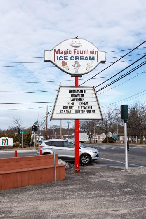 magic fountain ice cream long island ny