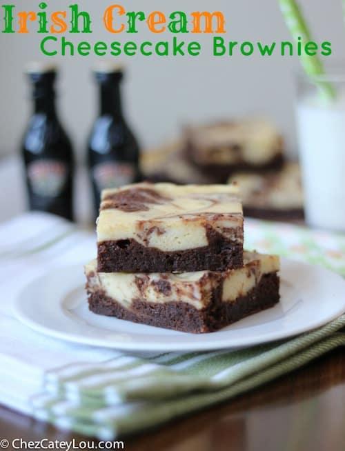 Irish-cream-cheesecake-brownies-baileys-st-patricks-day-writing