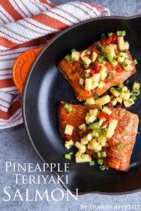 Pineapple Teriyaki Salmon {plus a Spring Entertaining Giveaway!}