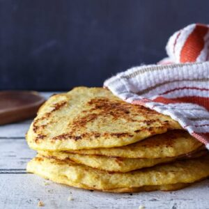 Paleo and Gluten-Free Cauliflower Tortillas