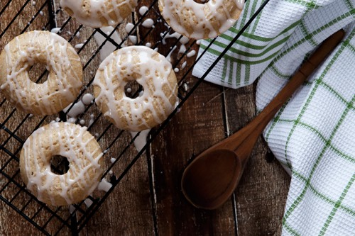 Baked Mexican Horchata Donuts
