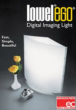lowel ego food photography lamp
