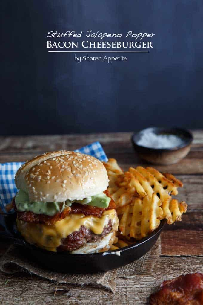 Stuffed Jalapeno Popper Bacon Cheeseburger #shop