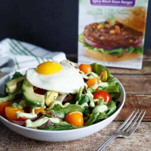 Spicy Black Bean Southwest Salad
