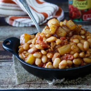 Summer Recipes: Pineapple Bacon Baked Beans