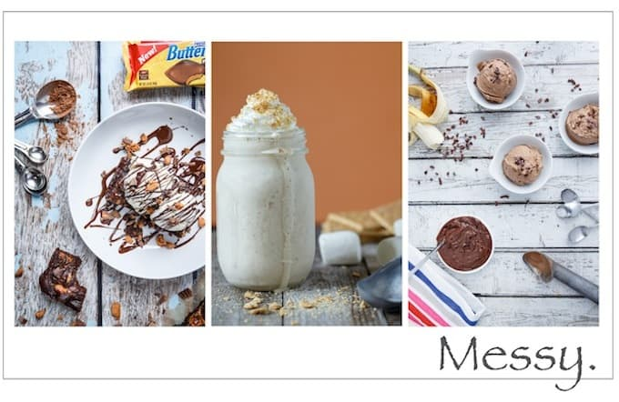 Messy Food Photography