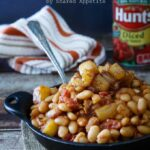Pineapple Bacon Baked Beans