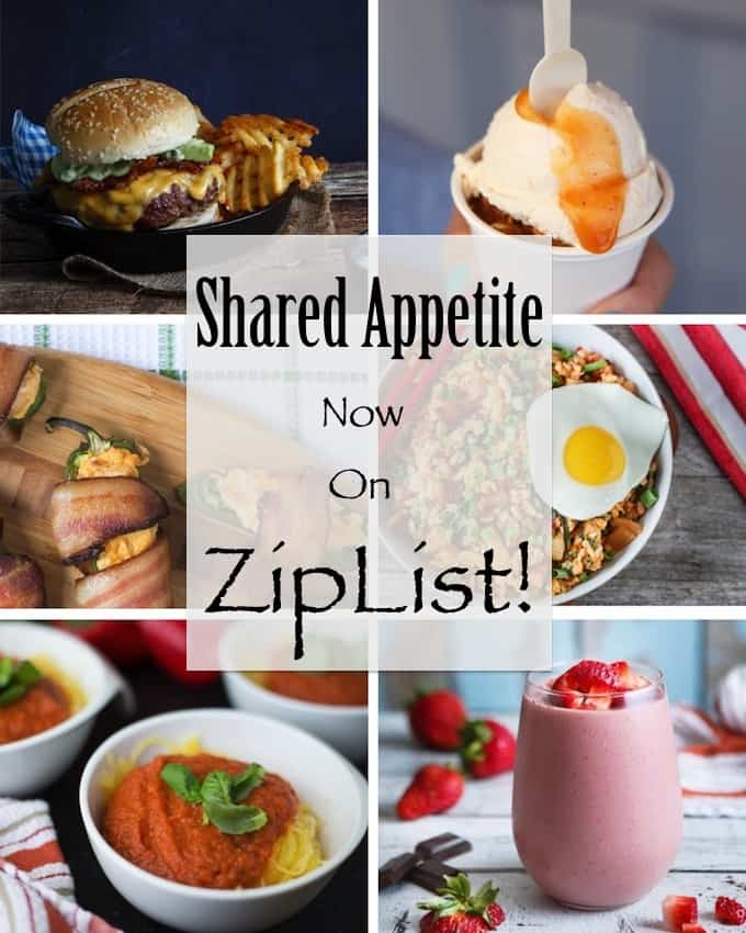 Shared Appetite Now On ZipList