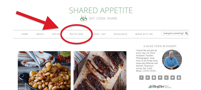 Shared Appetite on ZipList