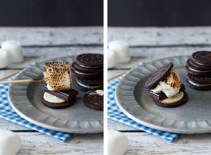 Oreo Cookie S'mores