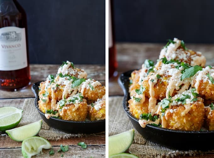 Mexican Street Corn Croquettes