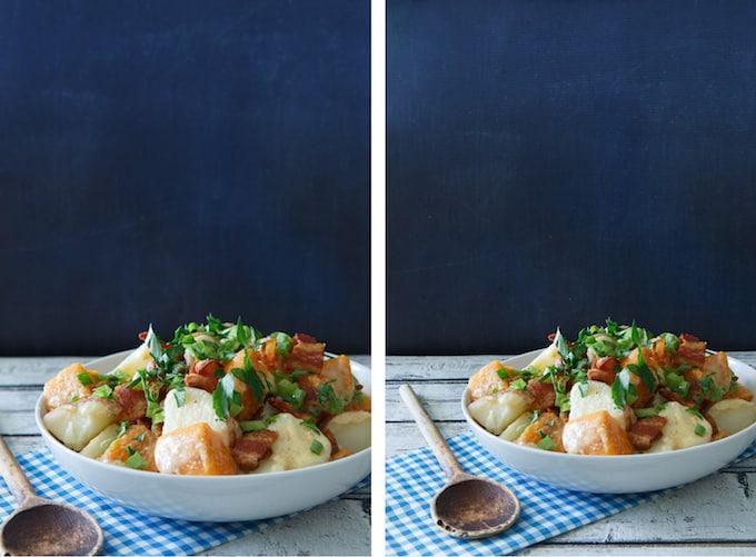 Sweet Potato Bacon Salad