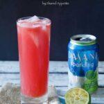 Watermelon Lime Sparkling Agua Fresca