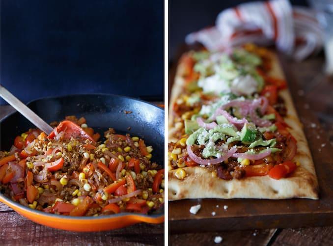 vegetarian-beef-fajita-pizza