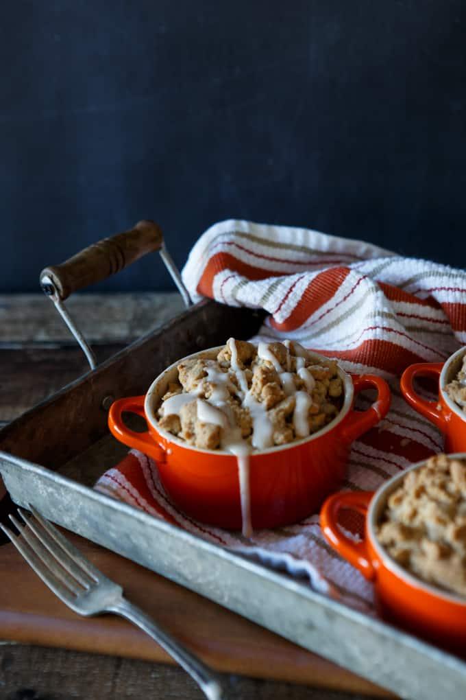 Pumpkin Cheesecake French Toast Casserole