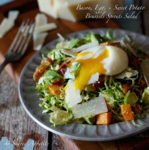 Bacon and Egg Brussels Sprout Salad