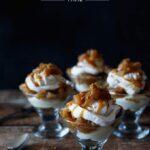 no bake caramel apple cheesecake trifle