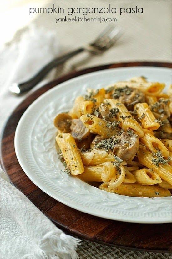 pumpkin-gorgonzola-pasta